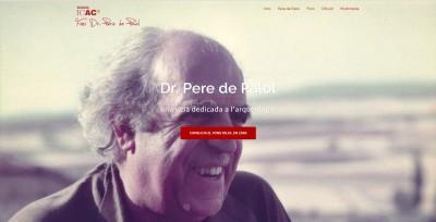 Web homenatge Pere Palol
