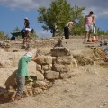 Descoberta la muralla que limita el fortí romà de la Costa de la Serra (la Secuita)