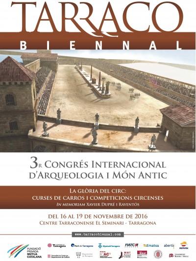 Cartell del congrés del 2016, en la seva tercera edició.
