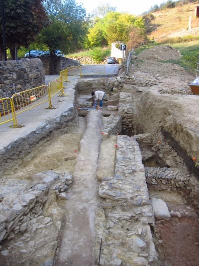 Vista general de l'excavació d'enguany.