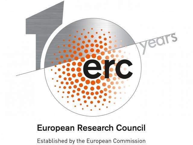 Logo del Consell Europeu de Recerca (ERC).