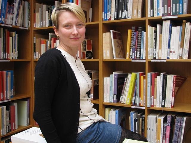 Aquesta investigadora romanesa ha fet una estada de recerca a l'ICAC.