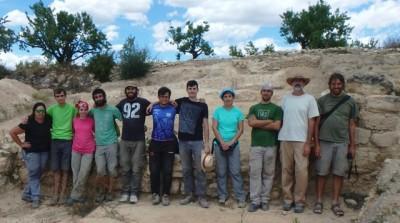 L'equip d'excavació l'han format estudiants universitaris i membres de l'ICAC.