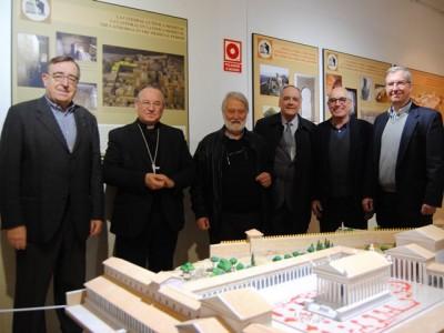 D'esquerra a dreta, Joan Josep Marca, Jaume Pujol, Joandomènech Ros, Josep Guitart, Josep Maria Gurt i Joaquín Ruiz de Arbulo.