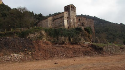 Conjunt arqueològic i monumental d'Aiguafreda de Dalt.