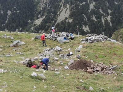 Vista general del jaciment de Fontnegra.