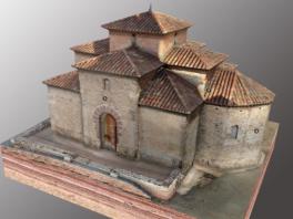 L'església visigoda de Sant Miquel de Terrassa, per primer cop en 3D interactiu