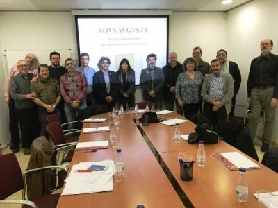 Reunió dels representants dels 14 municipis amb membres de l'ICAC.
