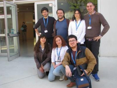 Membres del Comitè organitzador de la JIA 2018 a Tarragona.