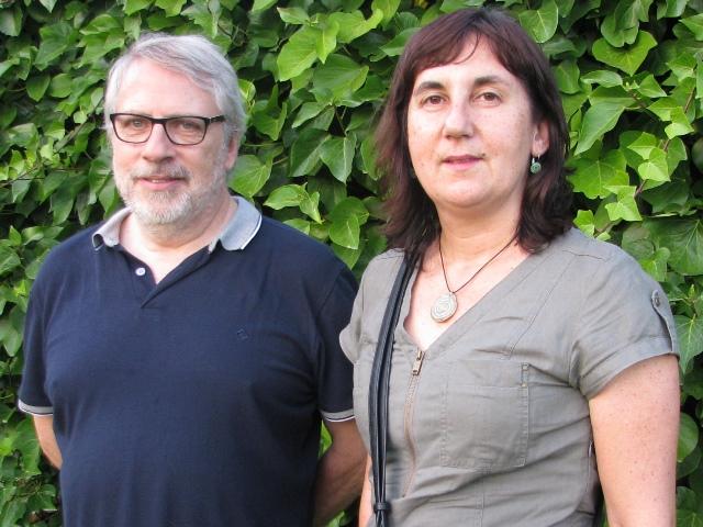 Joan Sanmartí i Carme Belarte.
