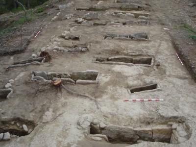 Vista general de la necròpolis de Pertegàs.