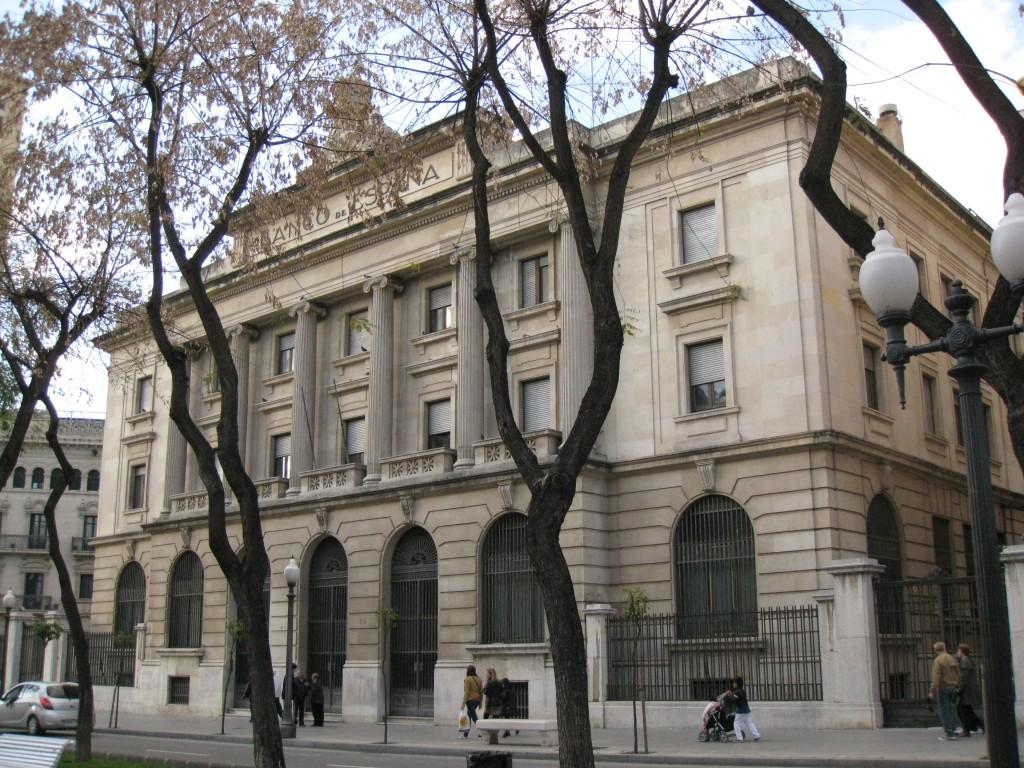 Antic edifici del Banc d'Espanya, Rambla Nova de Tarragona (foto: Wikimedia Commons)