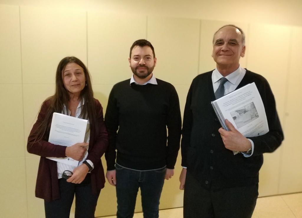 Luisa Migliorati. Dario Canino i Josep Guitart