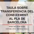 Taula sobre transferència del coneixement al Pla de Barcelona