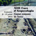 """Oberta la inscripció al Curs d'Arqueologia """"Ciutat romana de Iesso"""""""