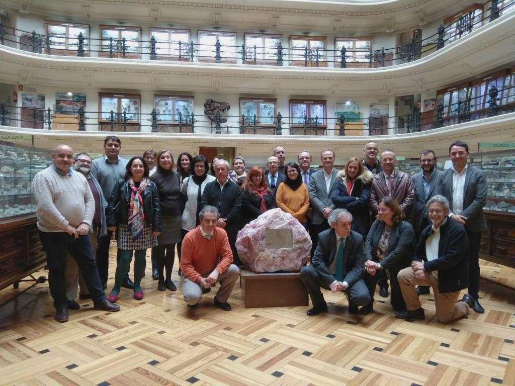 Asistentes a la 1a reunión de la Mesa interdisciplinar. Foto: IGME (cedida)