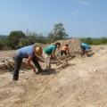 Noves troballes al fortí romà de Costa de la Serra (La Secuita, Tarragonès)