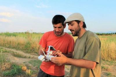 Els investigadors Hèctor A. Orengo (esquerra) i Arnau Garcia, coautors de l'article que s'acaba de publicar