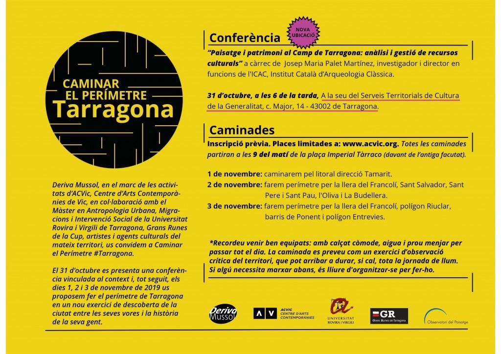 Caminar el perimetre de Tarragona (2019)