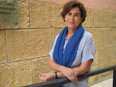 Eva Subías, investigadora i professora de la URV, a la seu de l'ICAC (2016)