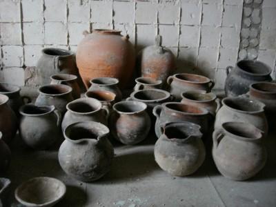 Mostra de ceràmiques de la Casa de la Convalescència de Vic. (Foto: Roberta Di Febo)