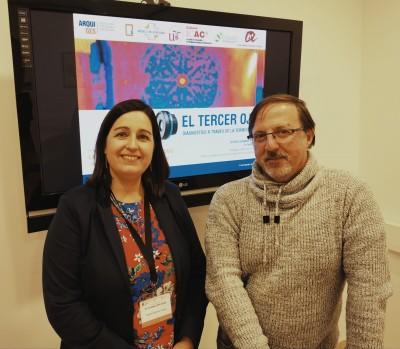 Débora Serrano i Josep Maria Puche, a l'ICAC