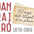 """Inauguració de l'exposició """"Joan Serra i Vilaró. 1879-1969. 50 anys del llegat d'un pioner"""""""