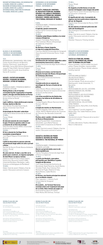 Reunió Internacional MUHBA ICAC_programa