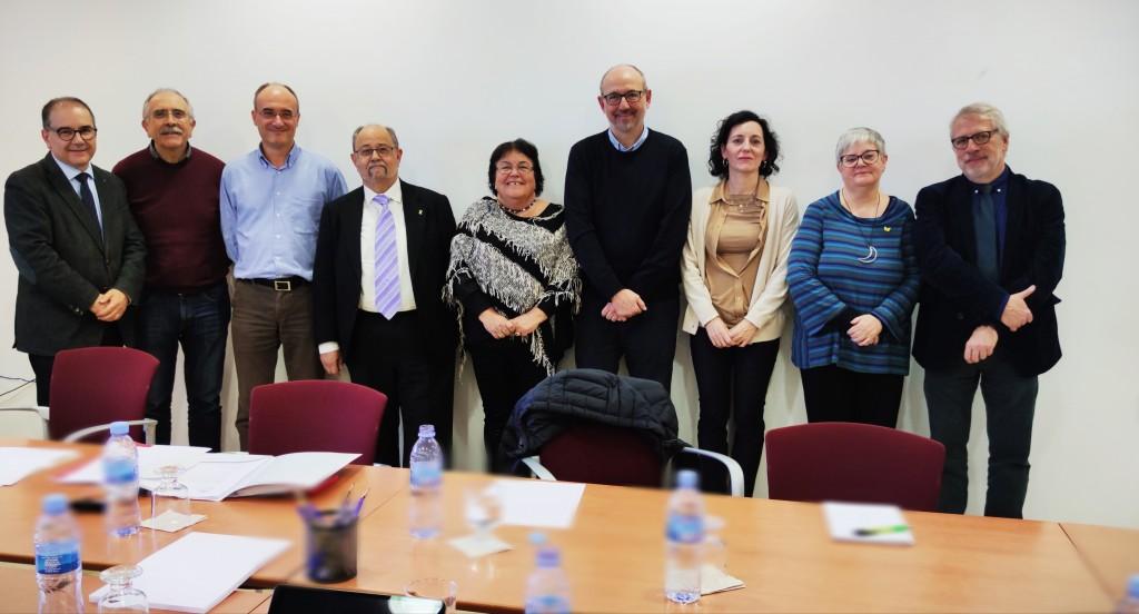 Membres del Consell de Direcció que van assistir a la reunió del 19/12/19 (@ ICAC) Aquesta obra està subjecta a una llicència de Reconeixement-NoComercial-CompartirIgual 4.0 Internacional de Creative Commons