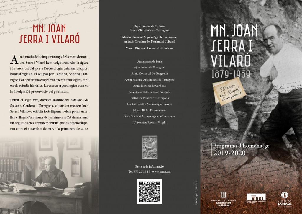 Homenatge 50 anys Joan Serra_Programa Actes_Gencat Cultura_pg1