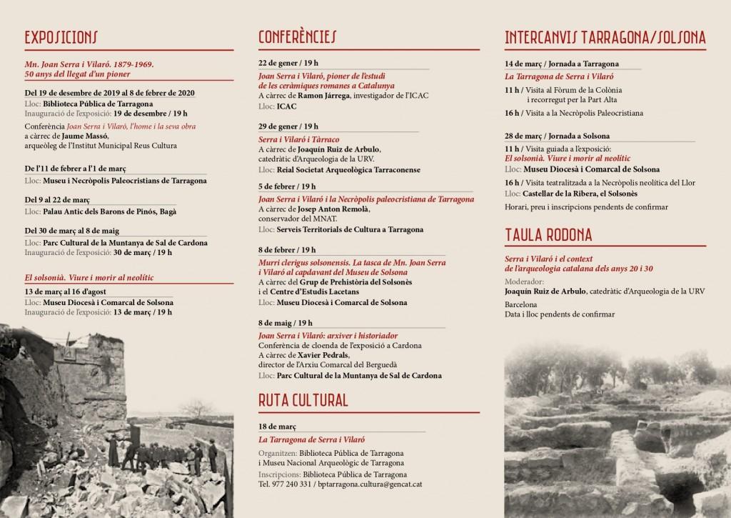Homenatge 50 anys Joan Serra_Programa Actes_Gencat Cultura_pg2