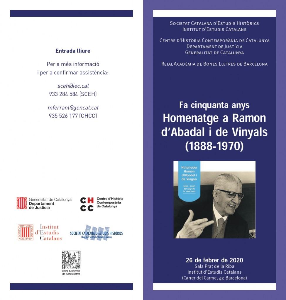 Homenatge Ramon Abadal_diptic_IEC_p1
