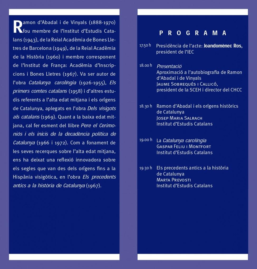 Homenatge Ramon Abadal_diptic_IEC_p2