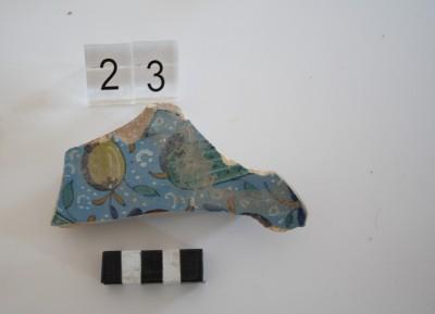 Una de les peces de la mostra de ceràmica de Montelupo analitzada (© Roberta di Febo)