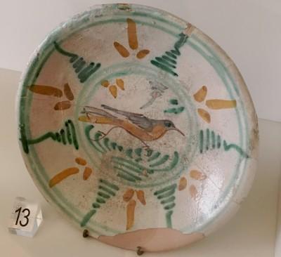 Plat de ceràmica de Montelupo (© Roberta di Febo)