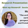 Research Presentation Webinars – Session#6: María Pastor