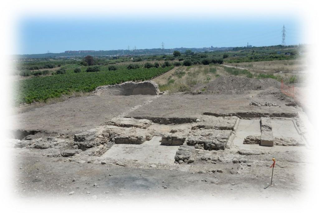 Imatge del jaciment del Mas dels Frares a Constantí (Tarragonès). Foto: ICAC.