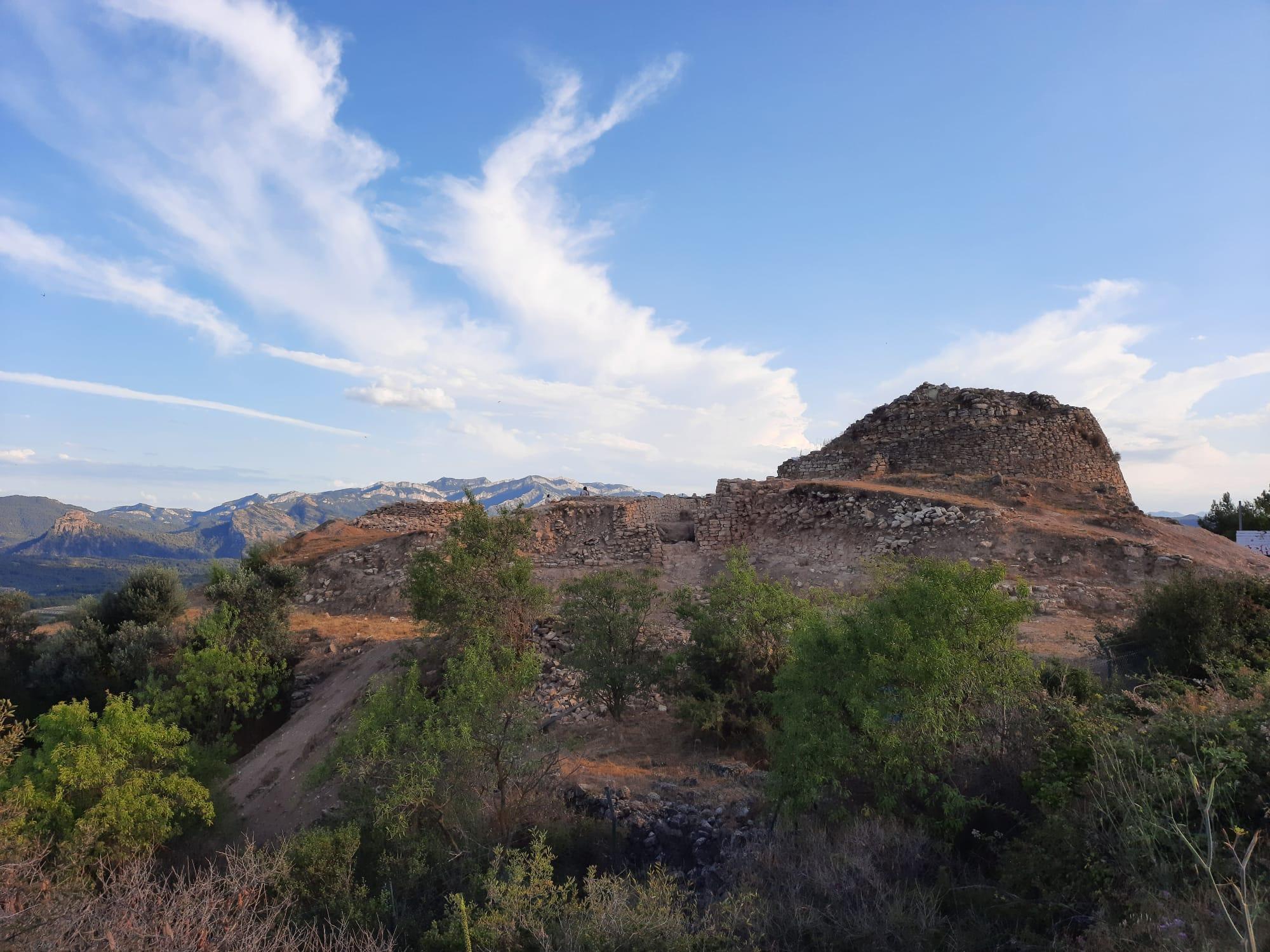 Vista general del jaciment de Coll del Moro (Gandesa). Foto: UB-ICAC.