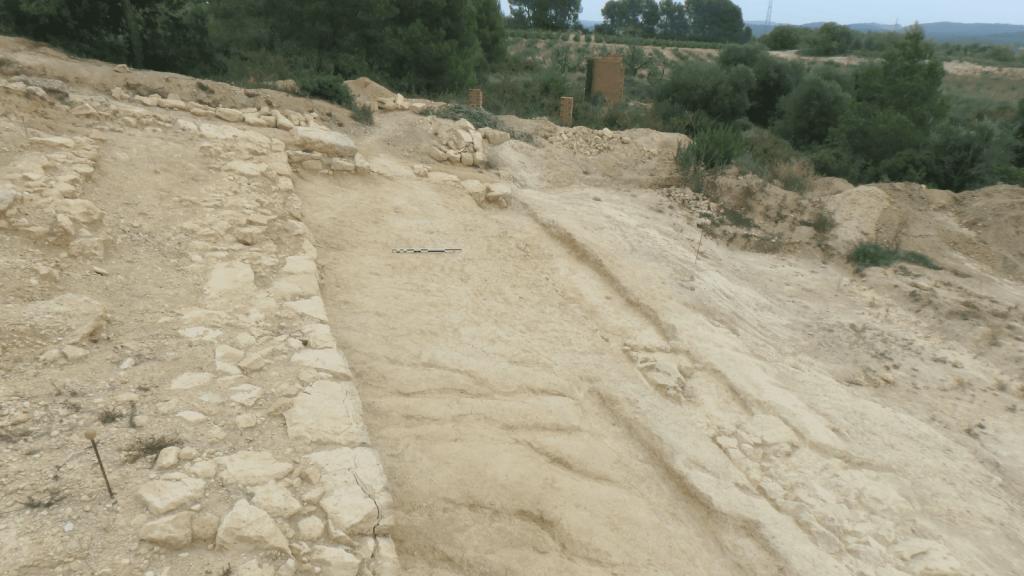 Foto final del sector sud-est del jaciment de Costa de la Serra (La Secuita, Tarragona) un cop exhaurida l'estratigrafia. Foto: ICAC.