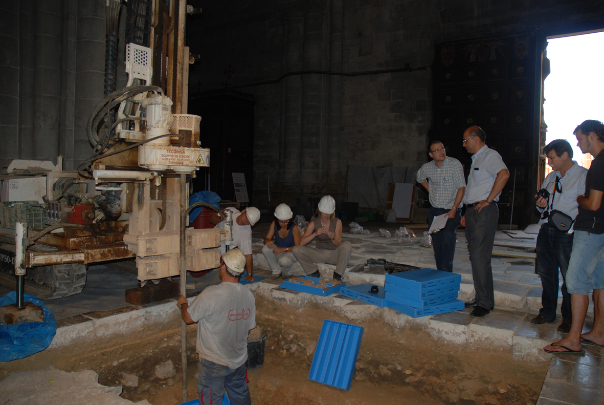 Geotècnic a la Catedral