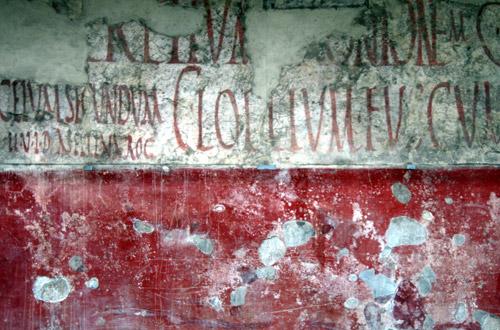 Inscripció Pompeia
