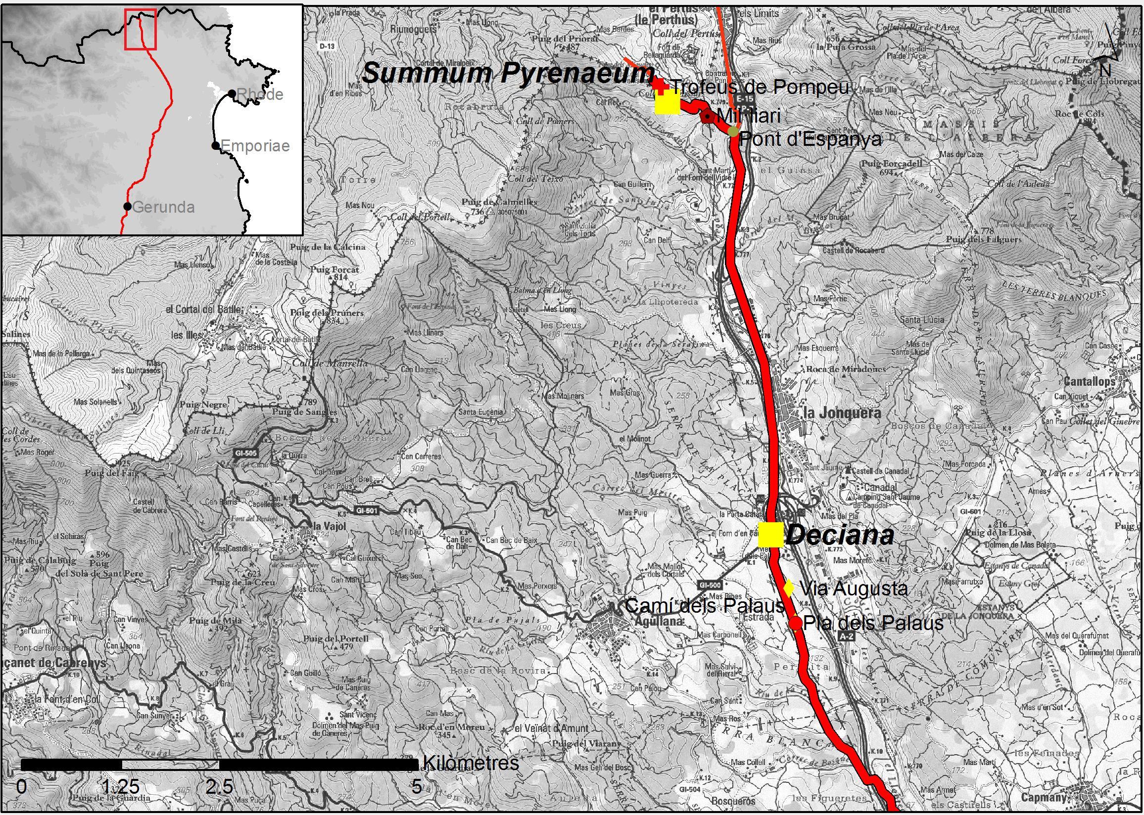 Tram de la Via Augusta al Pirineu
