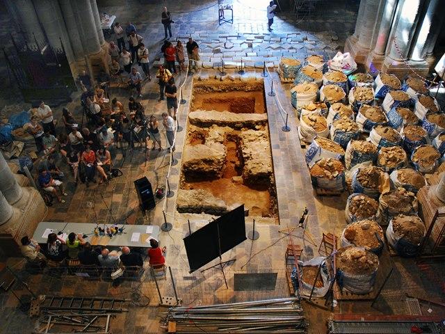 Presentació a la premsa de les intervencions a la Catedral de Tarragona (2010-2011).
