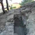 Ponemos al descubierto un nuevo tramo del acueducto del Gaià en el término municipal de Pallaresos