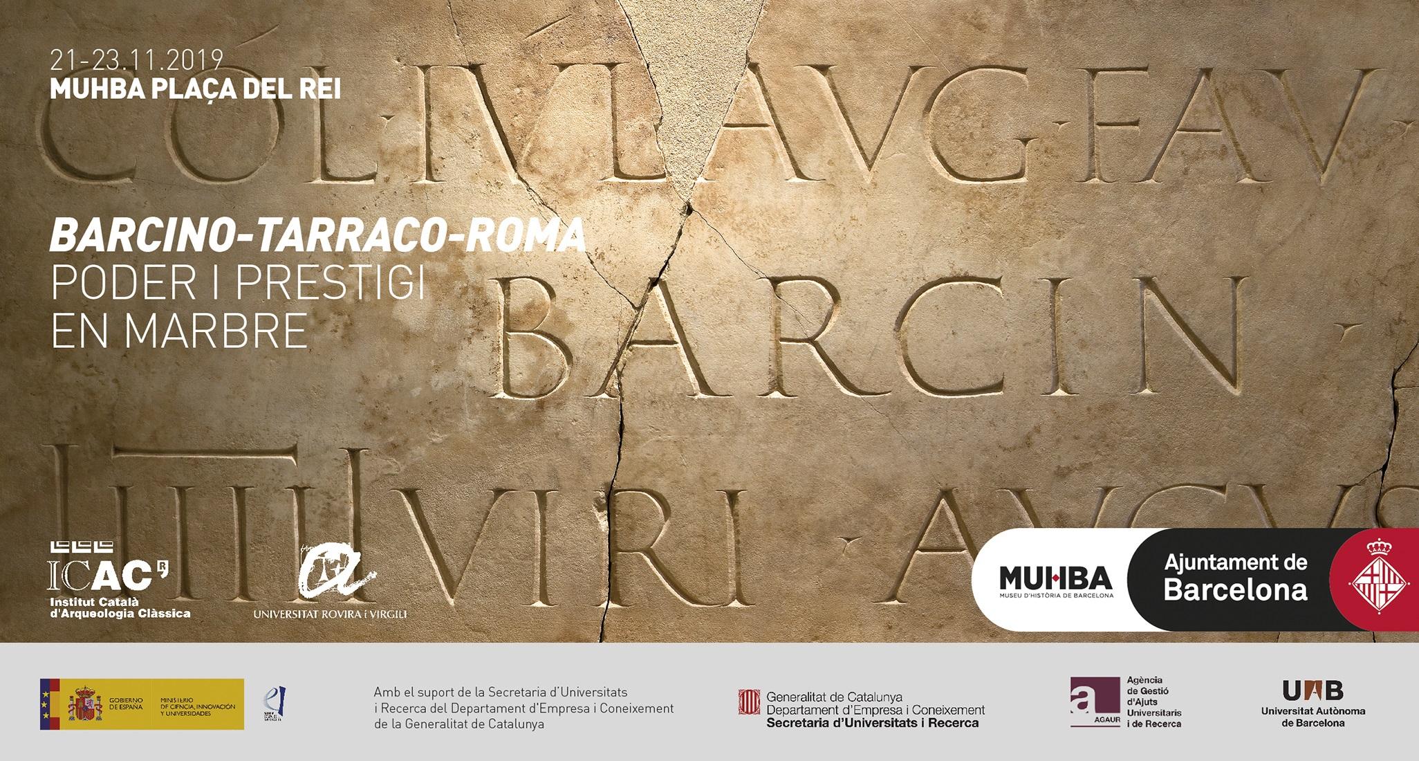 Placa dedicada pels seveis augustals a la colònia de Barcino © Jordi Puig