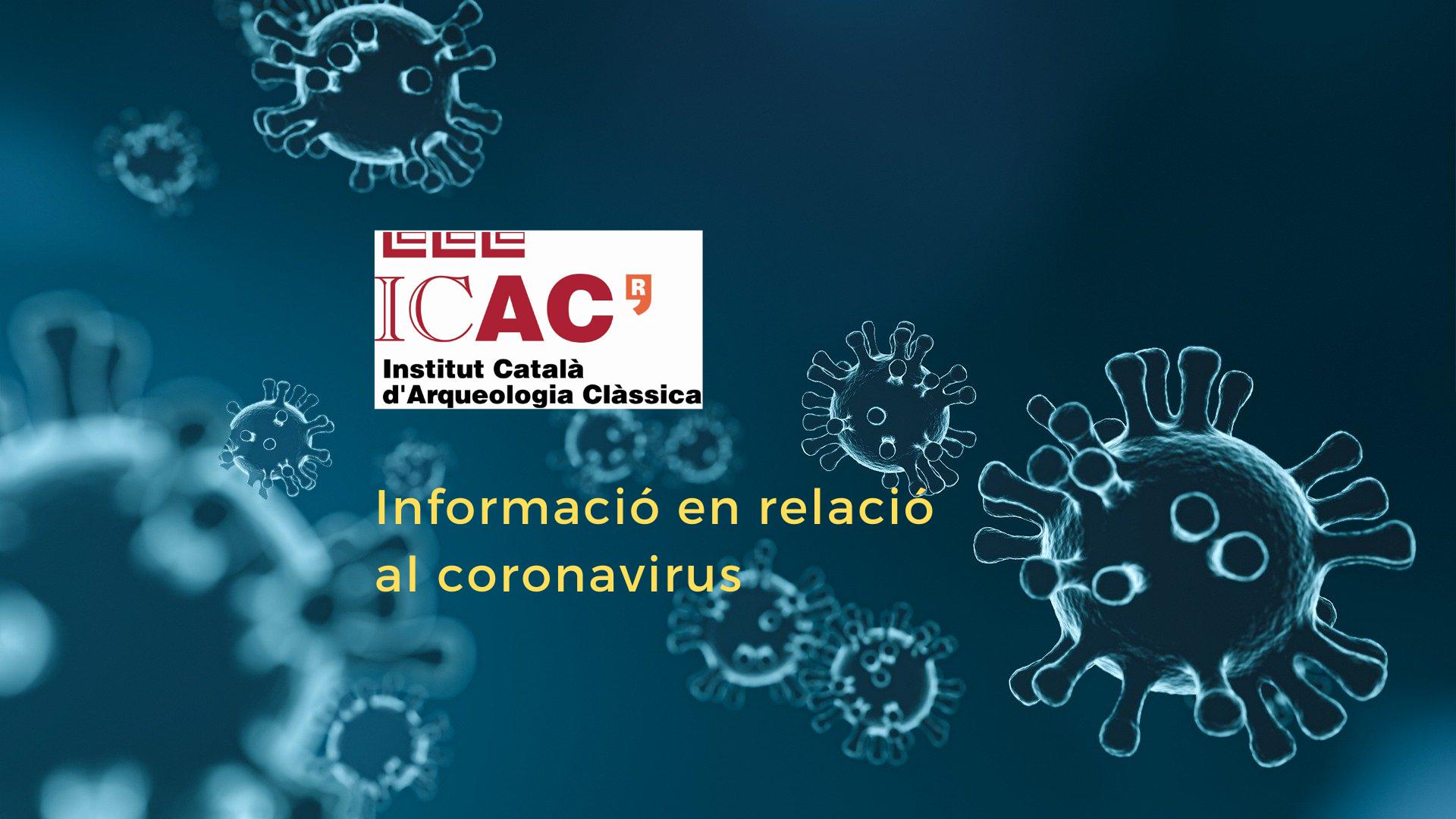 ICAC informacio coronavirus